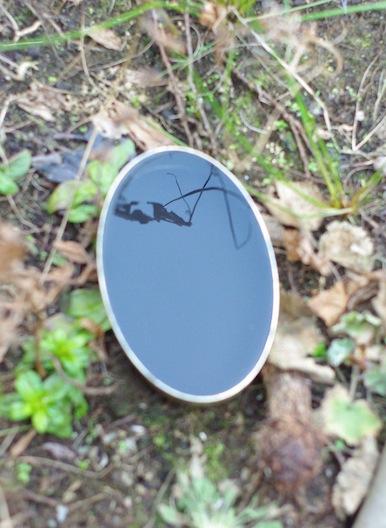 'zwarte spiegel' (model)  2009