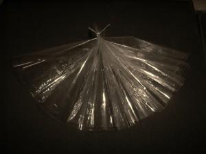z.t. plasticfolie:draad  18:9:3cm  2010